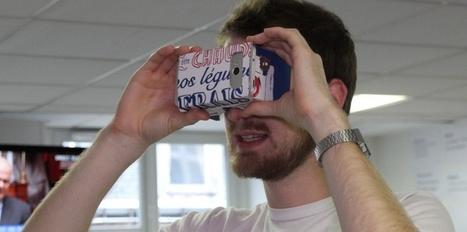 Un casque de réalité virtuelle fait avec une boîte à pizza ? C'est possible. Notre test | On dit quoi ? | Scoop.it