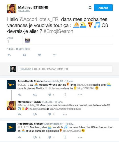 Comment réussir une campagne avec des emoji | Etudes de cas E-marketing | Scoop.it