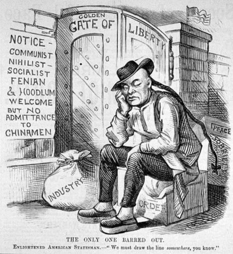 Chinese Exclusion Act | TJMS United States History | Scoop.it