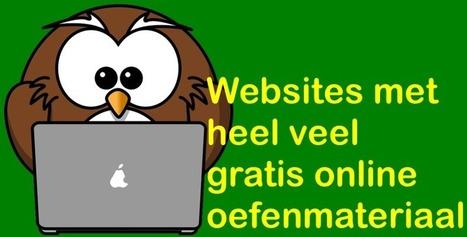 Edu-Curator: 3 websites met geweldig veel online oefenmateriaal | ICT in het onderwijs | Scoop.it