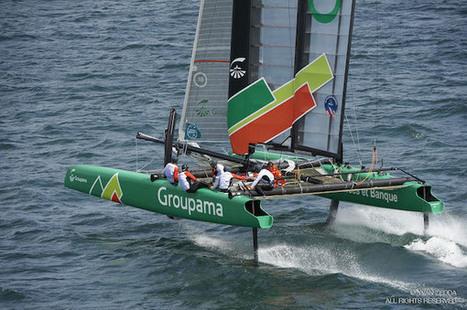 Tour de Belle-Ile : a bracing tour | Wing sail technology | Scoop.it
