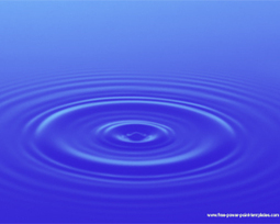 water powerpoint template design background | f, Presentation templates