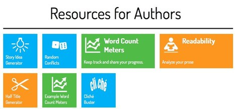 StoryToolz : Resources for Authors | Digital Overload | Scoop.it