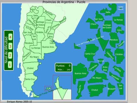 Provincias de Argentina 3  Puzzle  Enrique