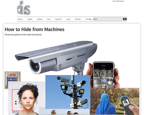 CV Dazzle: Camouflage from Face Detection | Design to Humanise | Scoop.it