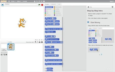 La programmation par le jeu : sortie de Scratch 2.0 | Les Outils - Inspiration | Scoop.it