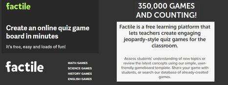 factile create multimedia quiz games techno