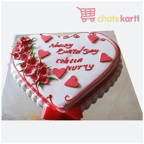 Buy Lovely Birthday Cake Online In Chennai