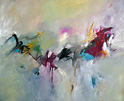 Arabesque - Original Abstract Painting by Texas Contemporary Artist   Contemporary Art hh   Scoop.it