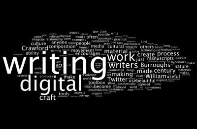 Digital Writing asHandicraft? | #digiwrimo: Digital Writing Month | Scoop.it