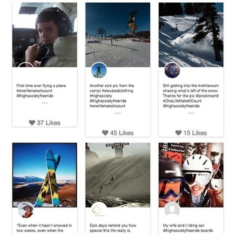 Instagram Hashtag Contests: Examples And Best Practices For Marketers | Mentalist | Scoop.it