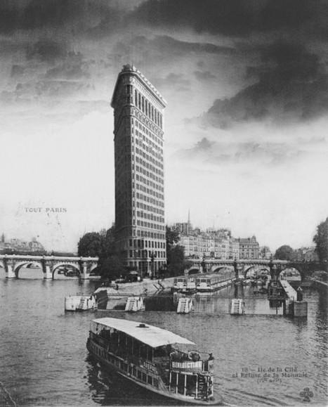 Haussmanhattan REIMAGINES Paris and New York Together - Arch2O.com   URBANmedias   Scoop.it
