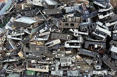 """Recycling of e-waste increasing (""""80% improperly disposed; poses increasing danger"""") 