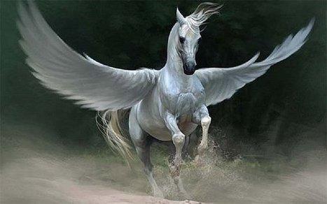 Pegaso: El caballo con alas que solo puede ser domado por hombres de buen corazón | Mitología clásica | Scoop.it