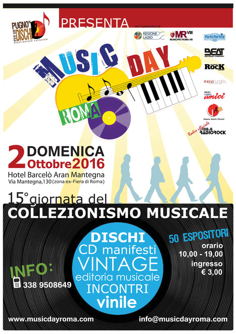 Music Day Roma | Roma | Duplicalo - Rome Live Music | Scoop.it