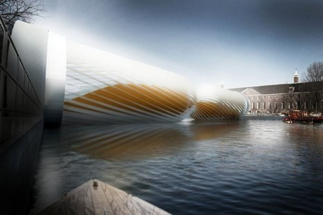 Un concept de pont hydroéléctrique pour Amsterdam | Arty Brain | Scoop.it