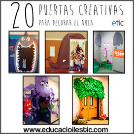 AYUDA PARA MAESTROS: 20 puertas creativas para decorar el aula   Ideas para OTRA escuela, desde la metodología y el liderazgo.   Scoop.it