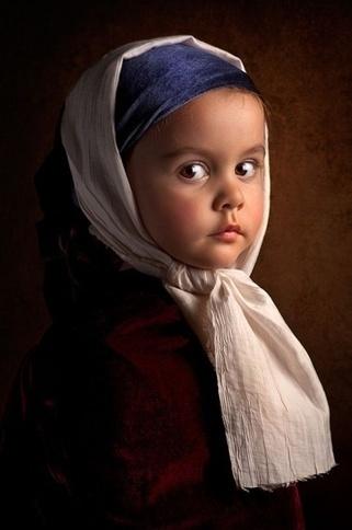 Il photographie sa fille comme des peintures du XVIIe! | Ce qui m'intéresse | Scoop.it