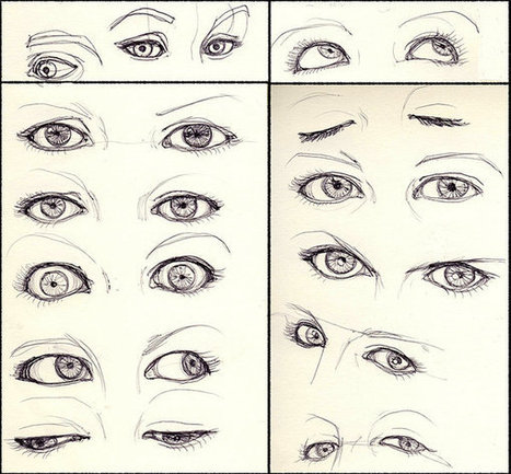 Expressive Eyes Drawing Reference Drawing Ref