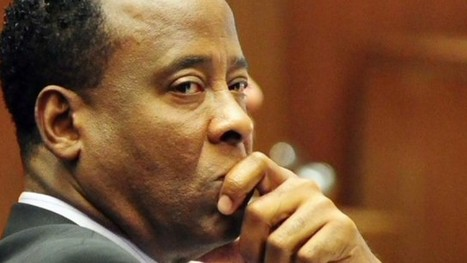 Conrad Murray from jail: 'I was in the wrong place at the wrong time' | Gov and law current events | Scoop.it