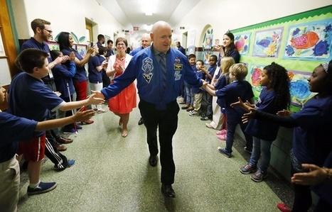 Espace: L'astronaute Scott Kelly a toujours des problèmes de santé trois mois après son retour | Space matters | Scoop.it