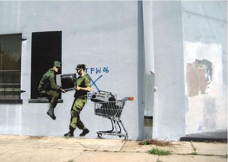 11 Guerrilla Street Art Greats | Art! | Scoop.it