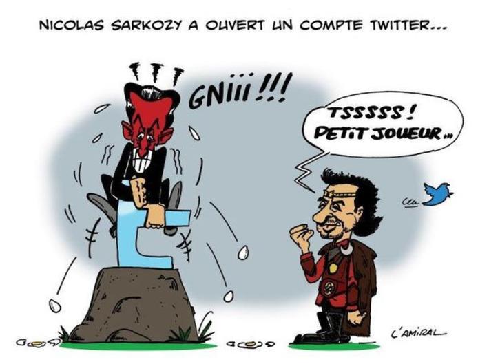Nicolas Sarkozy ouvre un compte Twitter   Baie d'humour   Scoop.it
