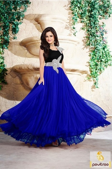 Ladies Gown Online Shopping India | Online Shop...