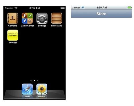 iOS Newsstand Tutorial - Viggiosoft Blog | Productivity Tools | Scoop.it