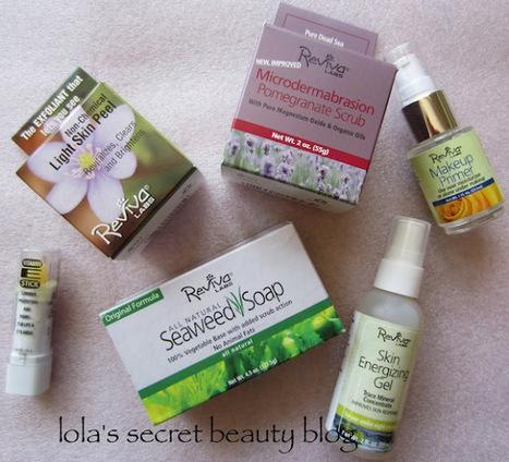 lola's secret beauty blog: Reviva Labs Skincare Teaser | Favorite Beauty Blogs | Scoop.it