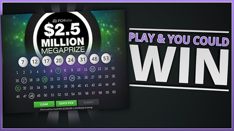 www pchlotto com - Sweepstakes PCH Lotto Megapr
