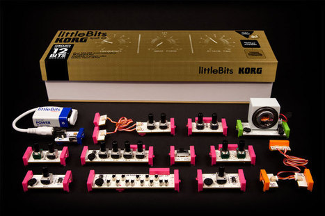 NEW PRODUCT – littleBits KORG Synth Kit   Heron   Scoop.it
