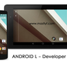 Android L Developer version Release with New Features