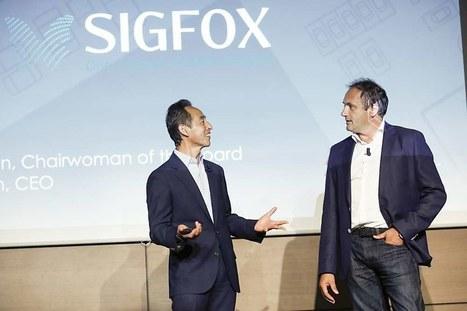 Objets connectés: Samsung investit dans le français Sigfox | Cloud Wireless | Scoop.it