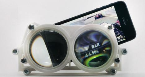 L'impression 3D donne vie à Altergaze, des lunettes de réalité virtuelle | Logicamp.org | Scoop.it