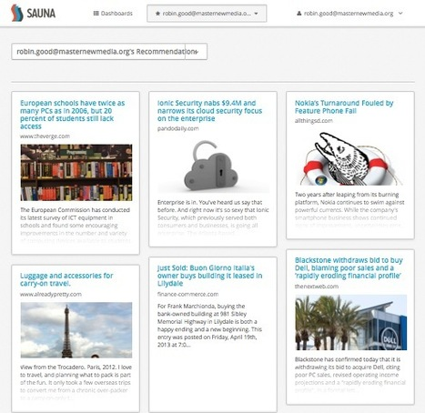 Find, Curate and Share Your Favorite Content on Social Media with Sauna.io | Content Curation for NonProfits | Scoop.it