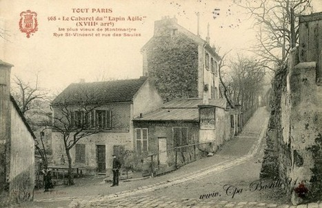 Tout Paris – Montmartre – Le Cabaret du Lapin Agile | Cartes Postales Anciennes | GenealoNet | Scoop.it