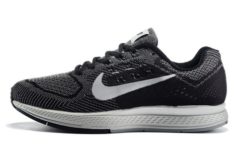 size 40 8427a 0d6e3 Mens Nike Zoom Structure 18 Running Shoes black grey  mensnikezoomstructure18001 - 83.99  Cheap Nike Shoes Sale Free  Shipping, Nike Air Max Clearance, ...