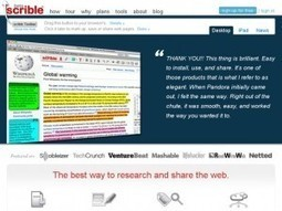 Les 15 meilleurs outils en ligne pour les enseignants. | Les outils du Web 2.0 | Scoop.it