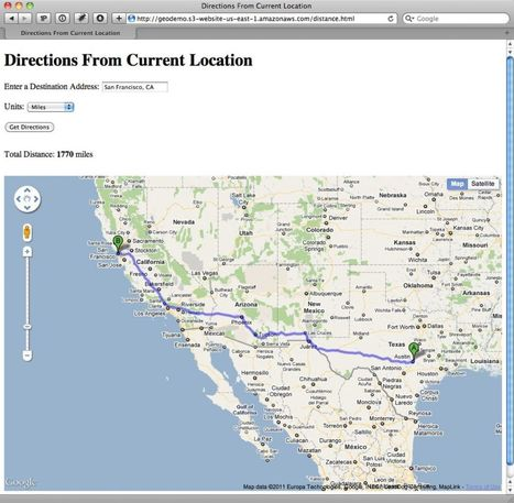 Getting started with HTML5 geolocation | Tutorial | .net magazine | onDev | Scoop.it