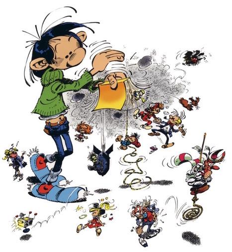 Humour incisif et touches de poésie : le génie de Franquin | Art et littérature (etc.) | Scoop.it