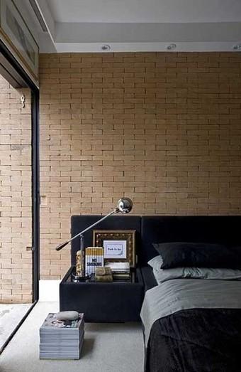 fotos e ideas para decorar con ladrillos vistos las paredes del dormitorio mil ideas de decoracin