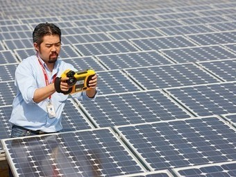 Solar power accounted for 100% of new energy on U.S. grid in ... | Solar energy topic | Scoop.it