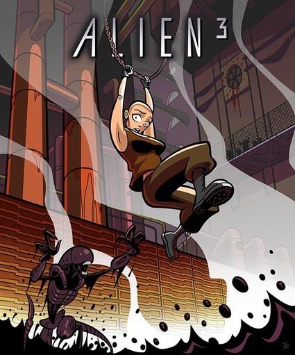 'Ellen Ripley' Digital Art Series   All Geeks   Scoop.it