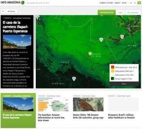 Infoamazônia é destaque em lista de inovação digital | Geoflorestas | Scoop.it