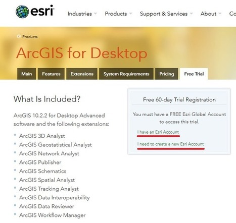 Como fazer o Download Gratuito e Instalar o ArcGIS | ArcGIS-Brasil | Scoop.it