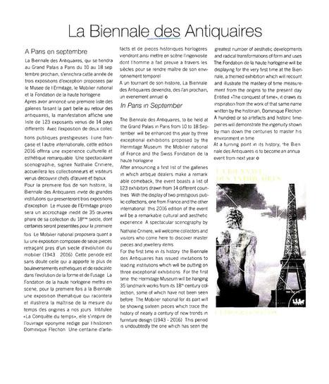 La Biennale des Antiquaires   La Biennale - Paris   Scoop.it