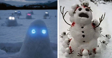 18 Creepy Horror Snowmen That Will Take Winter To The Next Level | Strange days indeed... | Scoop.it