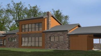 Au Saguenay, une maison chauffée par le soleil édifiée par Écohabitation | Solutions locales | Scoop.it