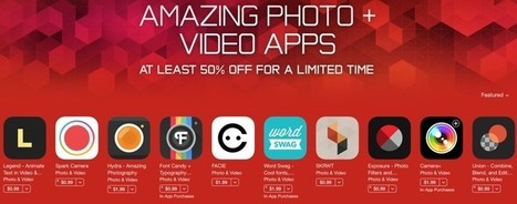 'Amazing Photo and Video' Promo Offers 50% Off Popular Apps for Mac and iOS | iOS in Education | Scoop.it